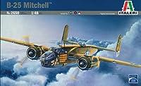 タミヤ イタレリ 2650 1/48 ロッキード ノースアメリカン B-25 C/D ミッチェル プラモデル
