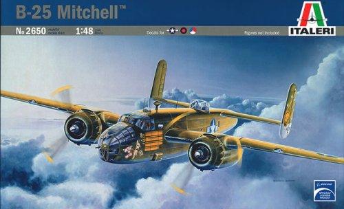 イタレリ 2650 1/48 ロッキード ノースアメリカン B-25 C/D ミッチェル