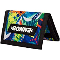"""BONNE ('bone') Graphic Design Trifold Wallet with Coin Pocket - Sporty, Stylish, Outdoor Gear, Popular, Anti-Tear Material -""""Crystal"""""""