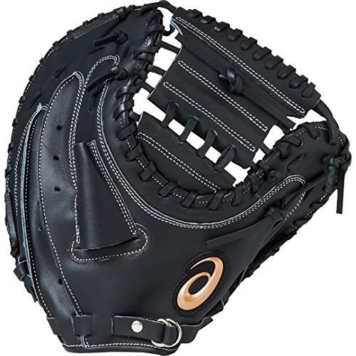 asics(アシックス) ソフトボール用 グローブ キャッチャー (右投げ用) DIVE ダイブ 2019年モデル BGS8BC ブラック LH(右投げ用)
