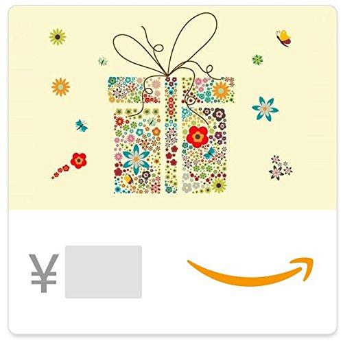 Amazonギフト券- Eメールタイプ - 花柄ギフトボックス