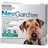 Nexgard, Flea & Tick Monthly Chew, Dog, 10.1-25kg, 3pk