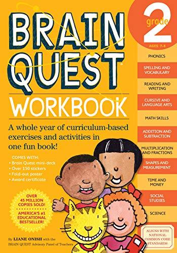『Brain Quest Workbook Grade 2』のトップ画像