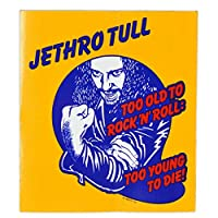 JETHRO TULL ジェスロタル Too Young To Die ステッカー