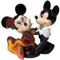 Enesco ディズニー ショーケース ミッキーとミニー タンゴ フィギュア 4インチ
