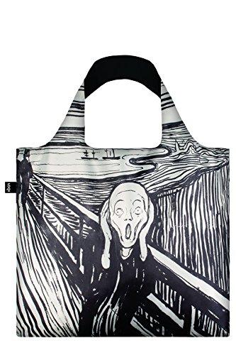 LOQIエコバッグ Museumコレクション EM.SC 叫び  割引サービス対象外 レディース メンズ ショッピングバッグ 買い物袋 エコバッグ バッグ 折りたたみ LOQI