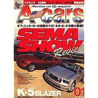 A cars (アメリカン カーライフ マガジン) 2009年 01月号 [雑誌]
