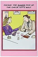 ボルトバレンタインの日ユーモア用紙カード 1 Valentine's Day Card & Envelope (SKU:2009)
