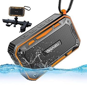 OWAIZU Bluetooth スピーカー アウトドア 自転車 用 スピーカー IP67防水 防塵 強化された低音 ブルートゥース ワイヤレスステレオ 自転車ホルダー付き 防水 すぴーかー