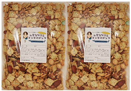 グルメな栄養士ののりセサミ&ミックスナッツ 500g×2...