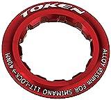 TOKEN(トーケン) TK041S ロックリング 11T シマノ レッド