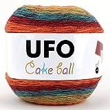 UFO Cake Ball ケーキボール グラデーションマルチカラー アクリル ウール 毛糸 200g, 350m col.02 SCYarn