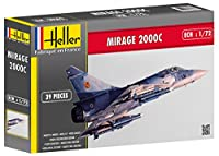 1:72 Heller Dassault Mirage 2000c Aircraft Model Kit