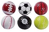 おもしろ ゴルフボール ユニーク デザイン 大会 ゴルフ コンペ 景品 ギフト 練習 スポーツ ボール 球 セット