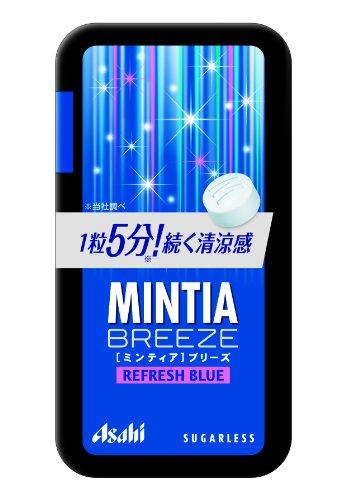 アサヒグループ食品 ミンティアブリーズ リフレッシュブルー 30粒×8個