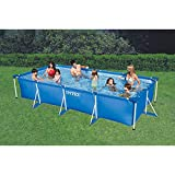 【カバー付き】 INTEX インテックス Rectangular Frame Pool レクタングラ フレームプール 長方形 プール 大型 家庭用