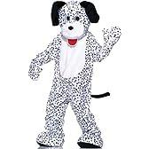 ダルメシアン 犬 着ぐるみ きぐるみ キャラクター きぐるみ エコノミーマスコット 大人用コスチューム パジャマ [並行輸入品]