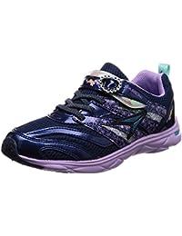 [シュンソク] 運動靴 通学履き 瞬足 ねじれ防止 軽量 19~24.5cm 1E キッズ 女の子