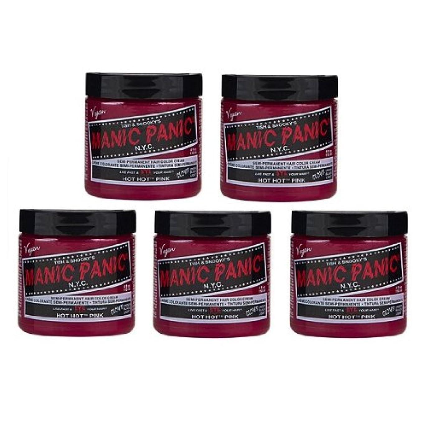 リーン雷雨スクランブル【5個セット】MANIC PANIC マニックパニック Hot Hot Pink ホットホットピンク 118ml