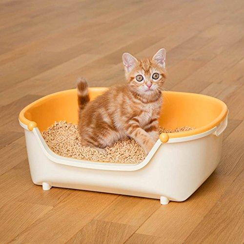 花王 ニャンとも清潔トイレ 子ねこ用セット オレンジ [猫用トイレ本体]