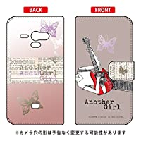 SECOND SKIN 手帳型スマートフォンケース Hal Ikeda 「Another Girl アッシュ」 / for AQUOS PHONE SERIE SHL22/au ASHL22-IJTC-401-LJK4