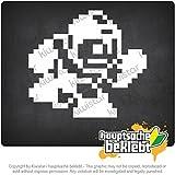 ボンバーマン - ゲームフィギュア - ゲームクラシック Bomberman - Gamefigur - Game Classic 11cm x 10cm 15色 - ネオン+クロム! ステッカービニールオートバイ