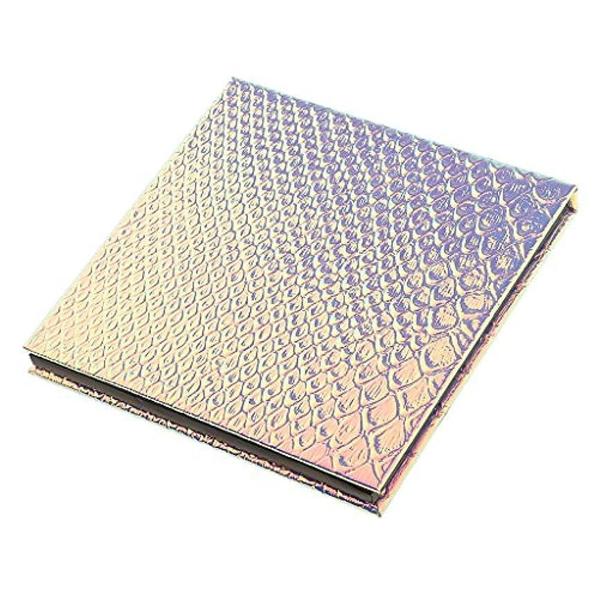のスコア挽く気性磁気パレットボックス 空の磁気パレット メイクアップ 化粧 コスメ 収納 ボックス 全2サイズ選べ - 10x10cm