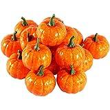 Acogedor  かぼちゃ 可愛いかぼちゃ ハロウィン飾り  雰囲気作り 祝日装飾 多用途 16個セット