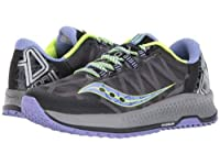 Saucony(サッカニー) レディース 女性用 シューズ 靴 スニーカー 運動靴 Koa TR - Grey/Blue/Citron 12 B - Medium [並行輸入品]