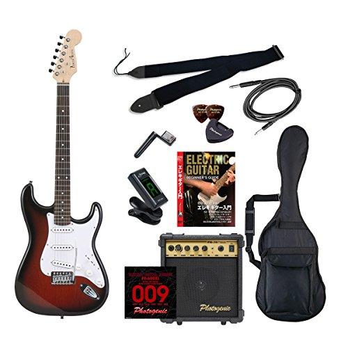 ENTRY 4534853532044 ST-180/RDS エレキギター エントリー レッドサンバースト Photogenic ST180RDSエントリセツト