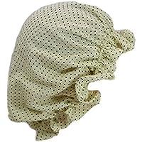 ナイトキャップ 日本製 コットン100% 帽子 キューティクル パサつき予防 抜け毛防止 ルームキャップ 室内帽子 高級 綿 おしゃれ ねぐせ 寝癖
