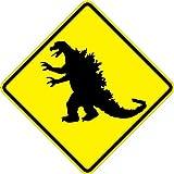 Godzilla–18x 18警告標識。A Real Sign。10年3M保証
