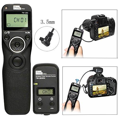 デジタル一眼レフカメラ用 ワイヤレス タイマー リモコン リモートコントロール タイミング シャッター レリーズ キャノンCanon EOS 7D 5Dシリーズ 1Dシリーズ 6D 6D2 50D 40D 30D 20D 10D対応