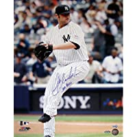 MLBニューヨークヤンキースJoba ChamberlainピンストライプジャージーWind Up垂直写真、6 x 20インチ