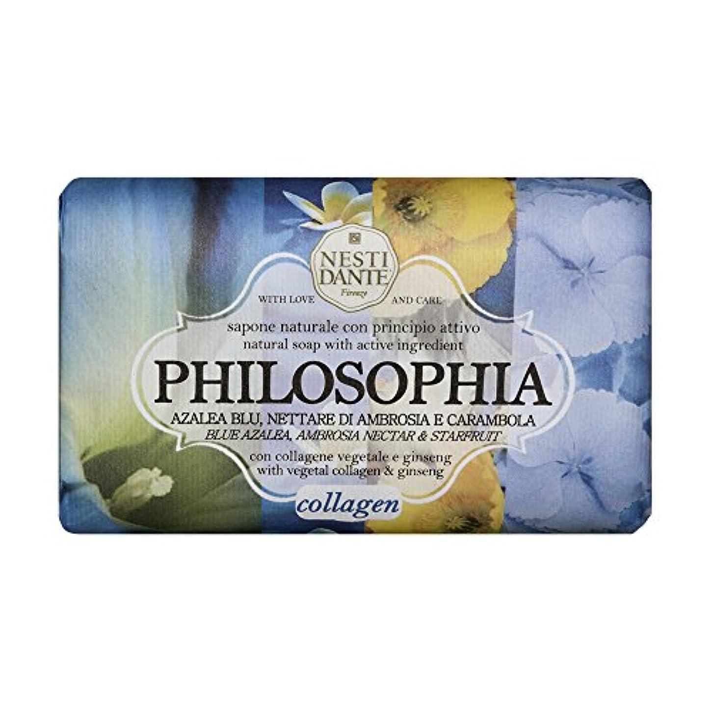 欠如傾いた百年ネスティダンテ フィロソフィアソープ ブルーアザレア&スターフルーツ(コラーゲン) 250g