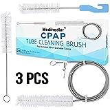 CPAP Tube Hose Cleaning BrushCPAP Mask Cleaner BrushSupplies for Standard 22mm Diameter TubingStainless Steel 7ft and 7Inch Handy BrushPack of 2