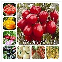 100本のギリシャGaintトマト盆栽家宝スウィートガーデニング野菜Plantas非GMOフルーツジューシーな苗のホーム盆栽:ミックス