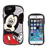iPhone7 ケース カバー ディズニー iface First Class ストラップホール 正規品 / ミッキーマウス