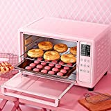 Electric oven cooker Toaster Oven,Electric Mini Oven With Double Hotplate and Grill, Electric Mini Oven With Timer,Automatic Small Mini Electronic Oven, Baking Machine
