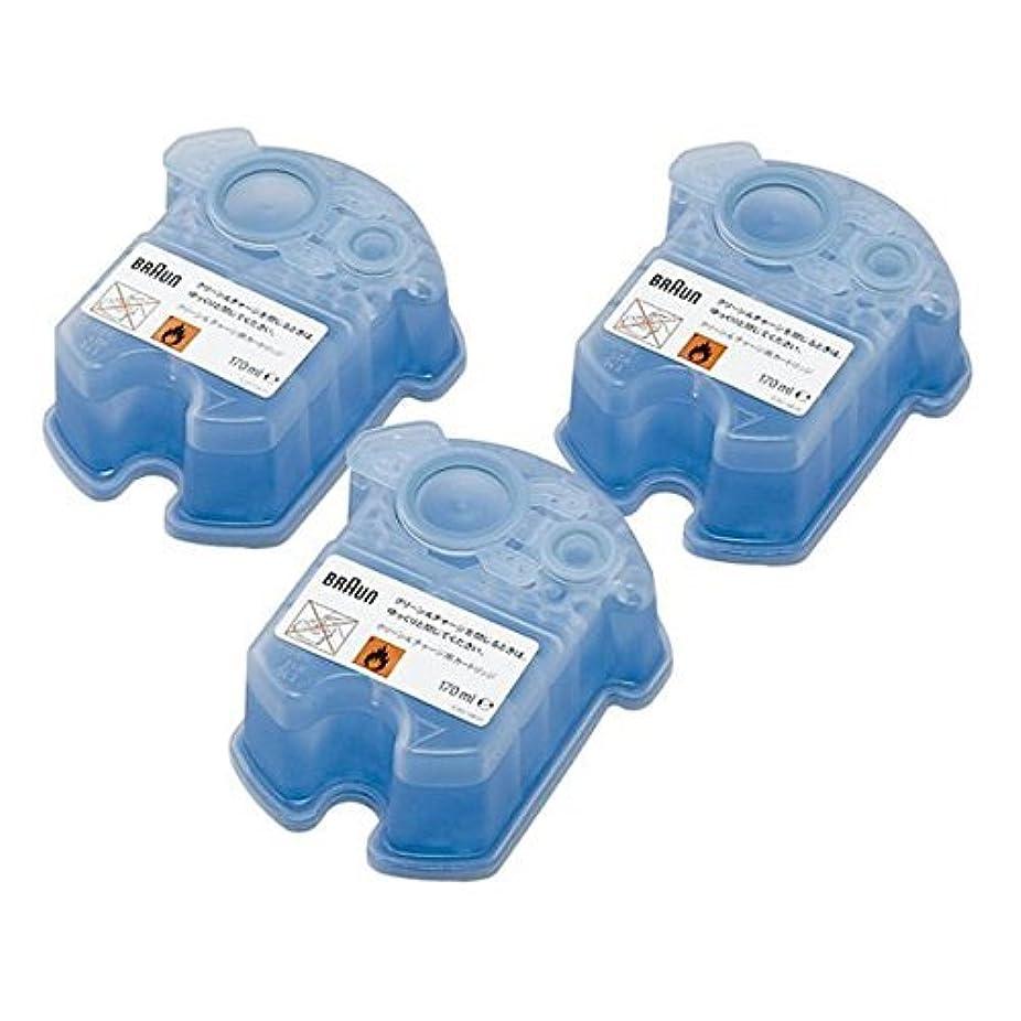 フォロー章制限BRAUN(ブラウン) クリーン&リニュー専用 洗浄液カートリッジ CCR3CR 3個入