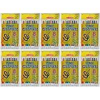 MomentunブランドStudioアートツイストクレヨン8パックTeacher 's Choice 10 packs マルチカラー 40-905413