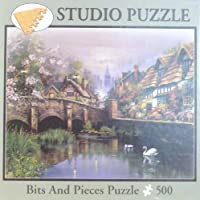 Studio 500 Piece Puzzle - Andres Orpinas: Quaint Village By Bits and Pieces [並行輸入品]