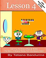 Learning the Space Musical Notes: The Story of Musical Notes from the Beauty Salon (Little Music Lessons for Kids)