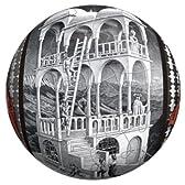 3D球体パズル エッシャー 60ピース 物見の塔/上昇と下降 (直径約7.6cm)