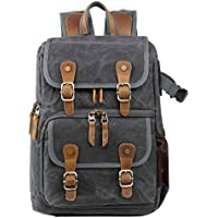 Neumora Camera Backpack with Waterproof Laptop Compartment for SLR/DSLR Photographer Backpack Camera Case