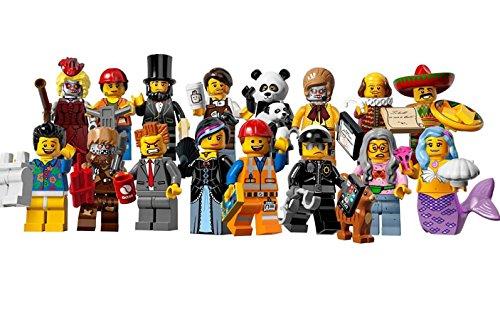 レゴ ミニフィギュア ムービーシリーズ LEGO THE LEGO MOVIE minifigures #71004 全16種フルコンプセット ミニフィグ ブロック 積み木