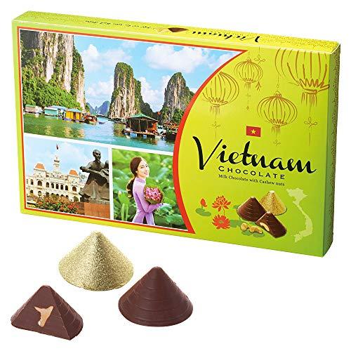 ベトナムお土産 ノンラー カシューナッツチョコレート