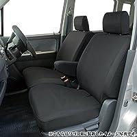 トヨタ タンク専用シートカバー 撥水加工 ブラック …