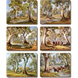 Cinnamon Redgum Country Drink Coasters