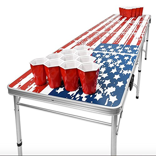 AMGS Beer Pong Table forアウトドアイ...
